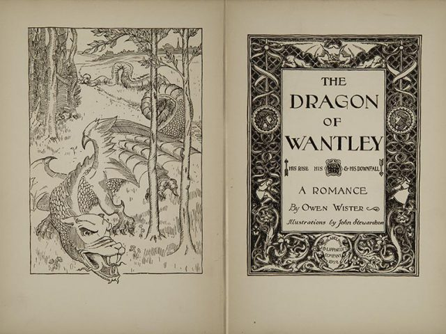 The Dragon of Wantley, His Rise, His Voracity, & His Downfall,  a Romance