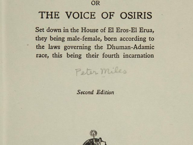 The Book of Truth, or, The Voice of Osiris