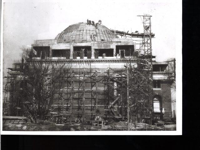 [Social Religious Building Under Construction]