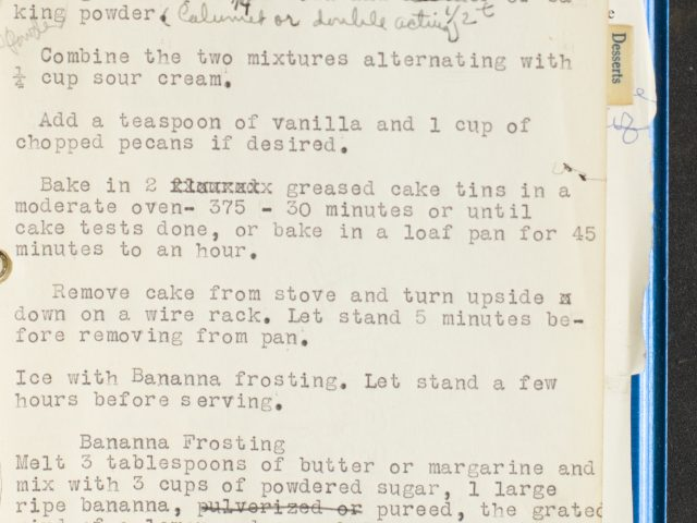 [Manuscript Recipe Notebook]