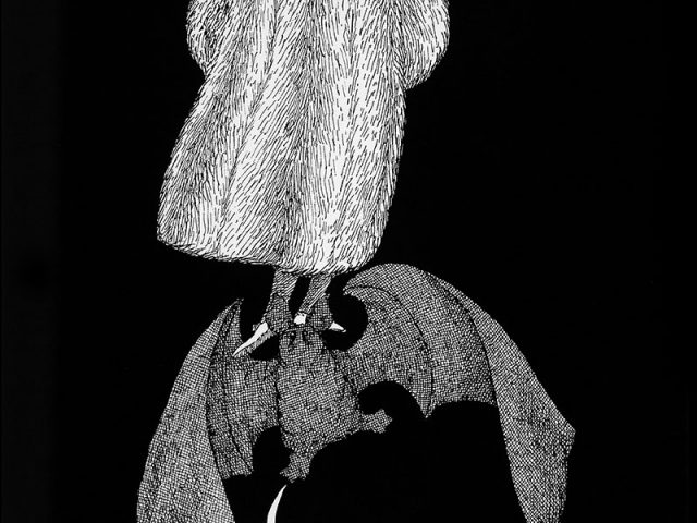 "Edward Gorey from ""The New Poster Book"""