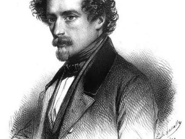 Portrait of J.J. Grandville (1803-1847)