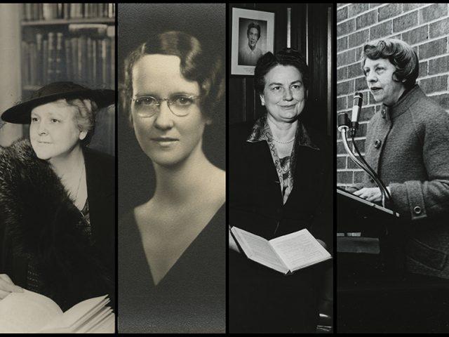 [Deans B.  Stapleton, Weaver, Chaffin, and Cuninggim].
