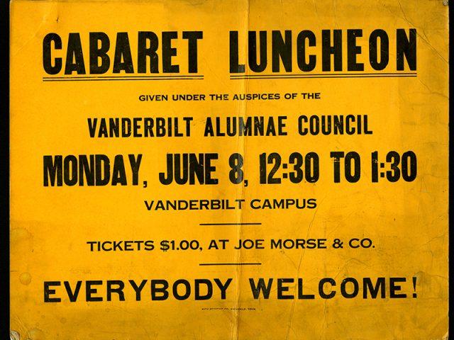 Cabaret Luncheon