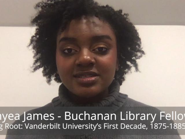 Curator's Talk: Donyea James
