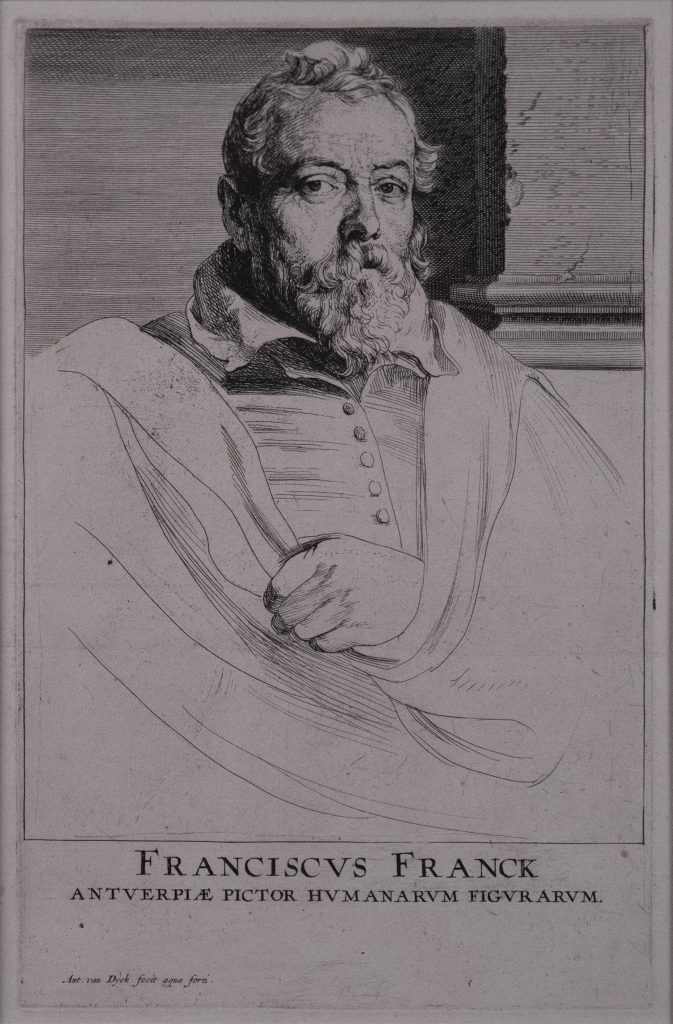 Bust of a bearded man looking at viewer.