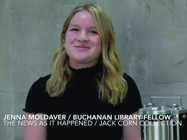 Curator Jenna Moldaver: Jack Corn