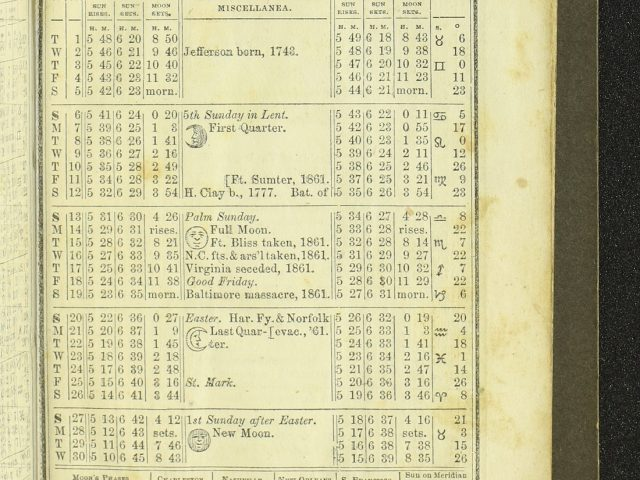 The Confederate States Almanac, and Repository of Useful Knowledge