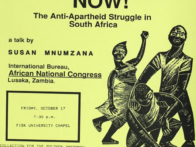 Freedom Now! The Anti-Apartheid Struggle in South Africa
