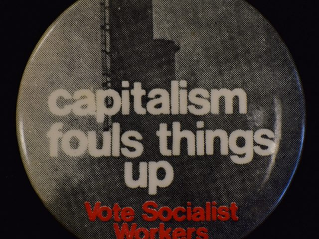 Capitalism Fouls Things up