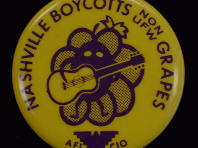 Nashville Boycotts Grapes