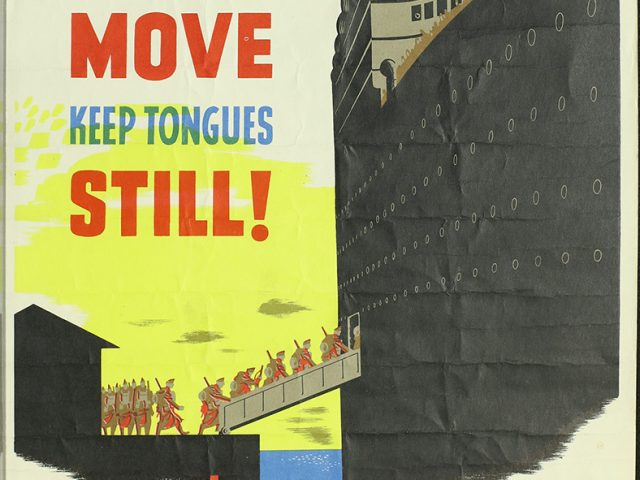 When Troops Move – Don't Gossip