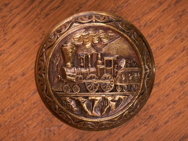 [Brass Door Knob from Holland McTyeire's Campus Residence]