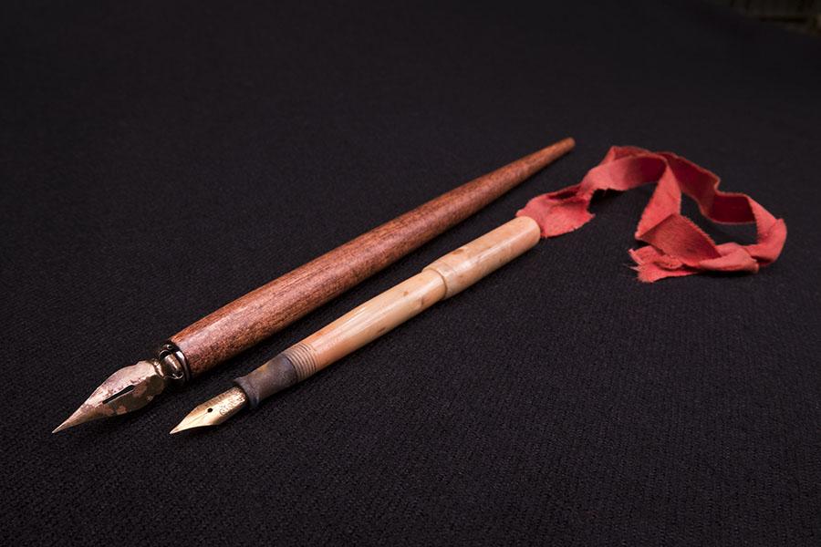 [Nineteenth Century Pen Belonging to Cornelius Vanderbilt]