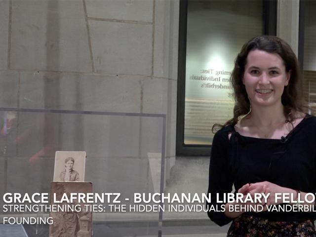 Curator Grace LaFrentz – Frank Vanderbilt and Amelia McTyeire