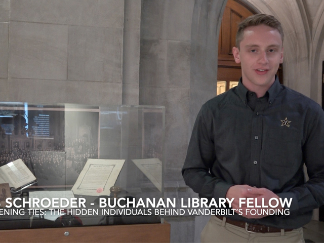 Curator Jacob Schroeder – University Architect Bishop McTyeire