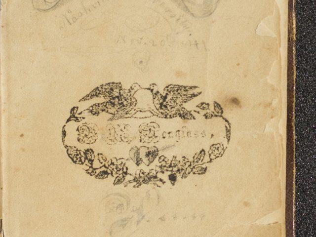 Alfred William Douglass Common-Place Book, University of Nashville
