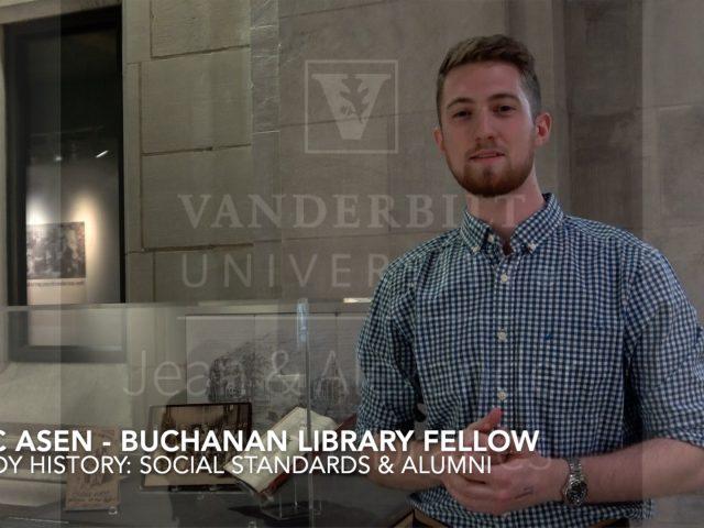 Eric Asen – Buchanan Library Fellow