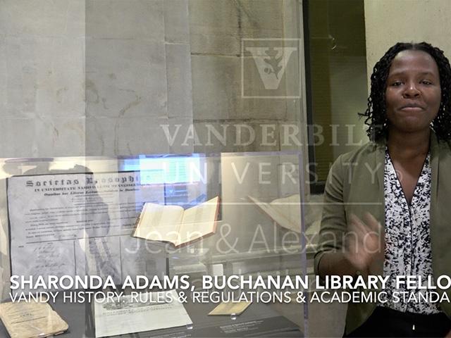 Sharonda Adams – Buchanan Library Fellow